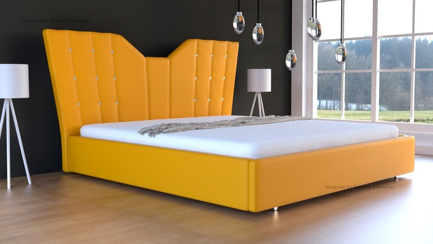 łóżko Angel Skrzynia Na Pościel