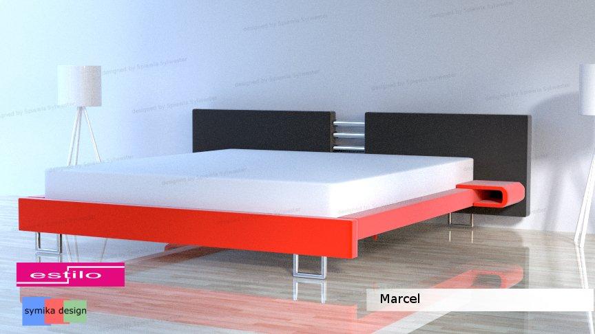 łóżko Do Sypialni Marcel Meble Do Sypialni