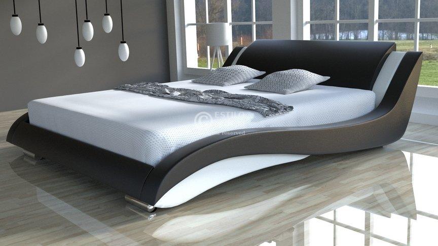 Komplet łóżko Do Sypialni Stilo 2 Lux Slim Z Materacem 7 Stref
