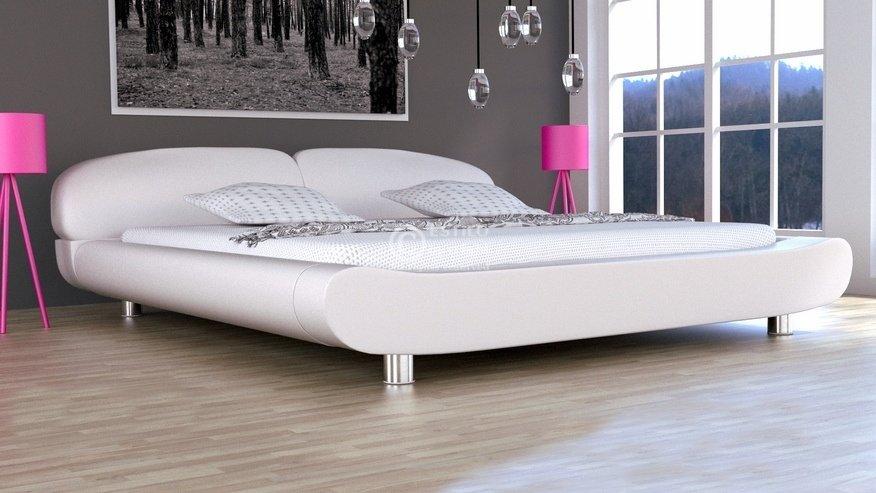 łóżko Tapicerowane Kalisto Skóra Naturalna 200x200