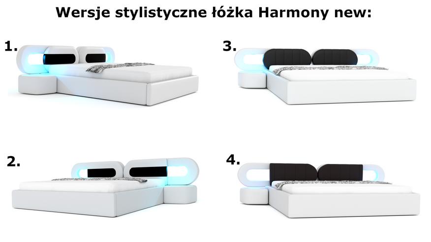 łóżko do sypialni harmony