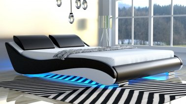 Łóżko do sypialni Stilo-2 Premium led rgb