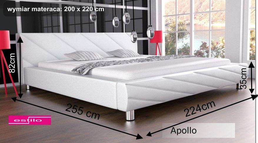 łóżko Do Sypialni Apollo 200x220